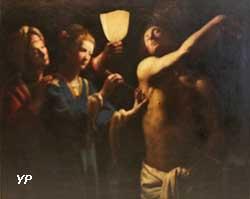 Saint Sébastien soigné par Irène (attribué au Maître à la Chandelle)