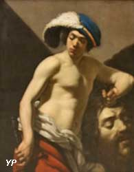 David tenant la tête de Goliath (Aubin Vouet)