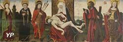 Vierge de pitié entourée de saints (Hans Clot)
