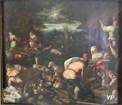 Sacrifice de Noé après la sortie de l'arche (atelier de Bassan - Leandro da Ponte)