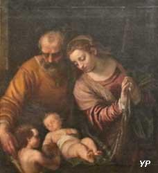 Sainte Famille avec le petit saint Jean (attribué à Benedetto Caliari)