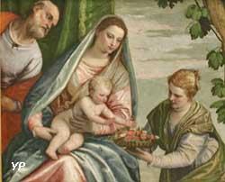 Sainte Famille avec Dorothée (Paolo Caliari, dit Véronèse)