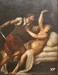 Tarquin et Lucrèce (Tiziano Vecellio, dit le Titien)