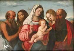 Vierge à l'Enfant avec des saints (Maître de l'incrédulité de saint Thomas)