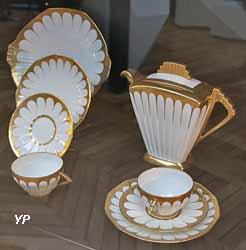 Service à gâteaux (manufacture Descote, Reboisson et Baranger, 1925)