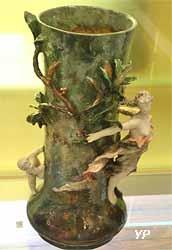 Vase (terre cuite vernissée, Paul Aubé, manufacture Haviland)