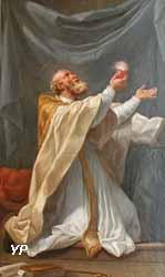 Saint Augustin en extase (Charles-André Van Loo, dit Carle Vanloo) (Yalta Production)