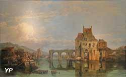The Old bridge at Angers (George Clarkson Stanfield)