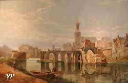 Angers on the Loire (George Clarkson Stanfield)