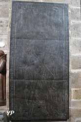 Dalle funéraire de Martial Formier (16e s.)