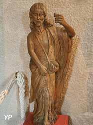 Saint Jean-Baptiste (bois, XVIIe siècle)