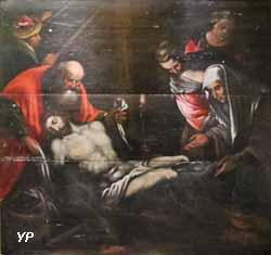 Mise au tombeau (peinture sur bois, anonyme, fin XVIe s.)