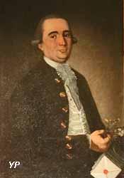 Portrait de Michel Rondel, chirurgien, directeur des Postes (anonyme, 1786)
