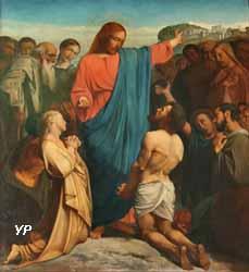 La guérison de dix lépreux par Jésus (Élie Delaunay)