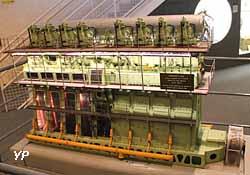 Maquette du pétrolier Beauce
