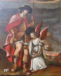 Saint Roch soigné par l'Ange