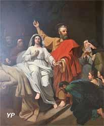 Saint Pierre ressuscitant Tabias