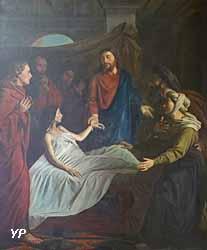 Jésus ressuscitant la fille de Jaïre
