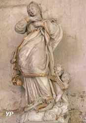 La Vierge écrasant le Serpent