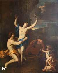 Appolon et Daphné (Nicolas Poussin, XVIIe s.)