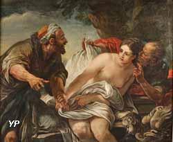 Suzanne et les Vieillards (anonyme, XVIIIe s.)
