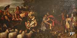 La réconciliation d'Ésaü et Jacob (XVIe s.)