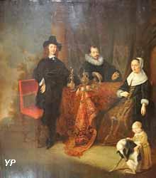 Famille dans un intérieur (Gonzales Coques)