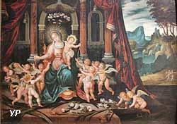 La Vierge au Rosaire (Dirck Vellert)