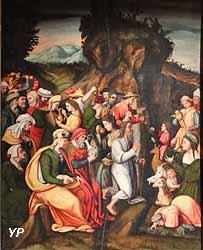 Le Frappement du Rocher (Francesco d'Ubertino Verdi, dit le Bacchiacca)
