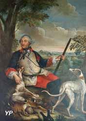Godefroy-Charles-Henri de la Tour d'Auvergne, duc de Bouillon, prince de Turenne et comte d'Évreux (Louis-Antoine Sixe, dit le chevalier de Sixe, 1755)