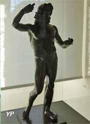 Jupiter, dit du Vieil-Évreux (bronze, argent et cuivre, 1e siècle)