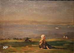 Paysage maritime (Jules Breton)