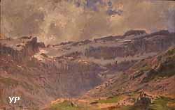 Les Pyrénées ou Cirque de Gavarnie (Marie Rosalie ou Rosa Bonheur)