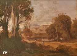 Lycidas et Méris (Théophile-Narcisse Chauvel, 1854)