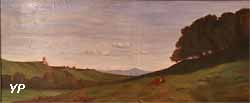 Un site d'Italie (Charles François Brunier, 1860)