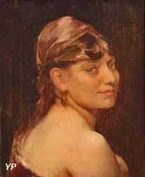 Tête de femme (Fernand Cormon)
