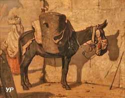 Dans le désert (Alexandre-Gabriel Decamps, 1833)