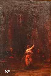 Danseuse arabe (Félix-François-Georges Philibert Ziem)
