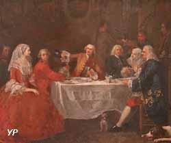Souper à Malte (Chevalier de Favray)