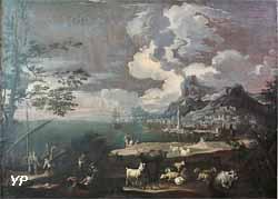Vue d'un port (Rosa da Tivoli)