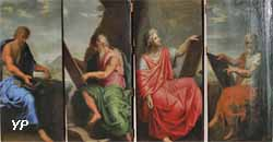 Figures d'évangélistes (Louis Licherie de Beurie)