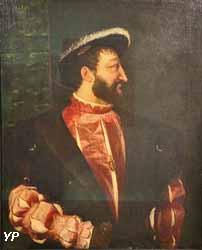 Portrait de François 1er (Tiziano Vecellio, dit Titien - musée du Louvre)