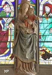 Vierge à l'Enfant (bois polychrome, XVe s.)