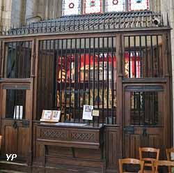 Chapelle du Trésor - grille Louis XI