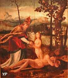 La Création d'Ève (anonyme)