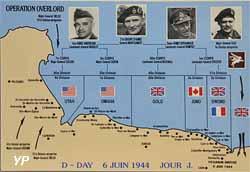 Opération Overlord (Débarquement de juin 1944)