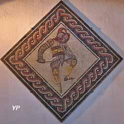 Mosaïque Des jeux du cirque (3e siècle après JC)