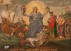 Vierge ésotérique