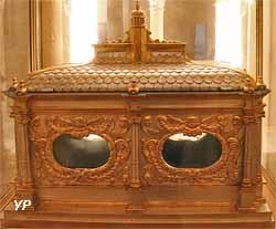 Ancienne chasse des reliques de saint Remi (17e s.)