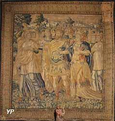 La danse de Salomé (tapisserie bruxelloise, 16 s.)